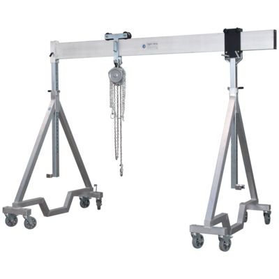 Aluminium Gantry Crane movable under Load