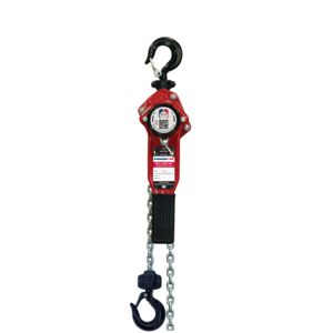 Lever hoist with overload protection that ensures that the hoist will not be overloaded.