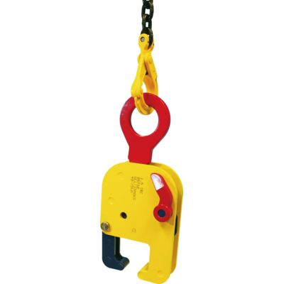 Horizontal rail lifting clamp TRC