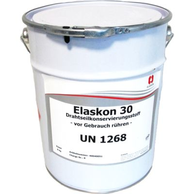 ELASKON products provide excellent corrosion protection for the wires that make up the rope.